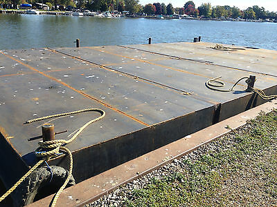40x24x3.5 sectional barge