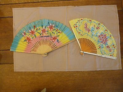 Antique Japanese Fans