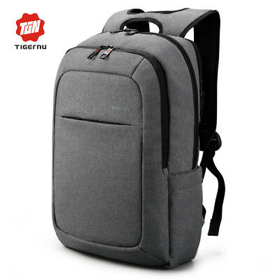 Tigernu Brand Men Fashion Laptop Backpacks 15.6inch Travel Waterproof Demin Bags