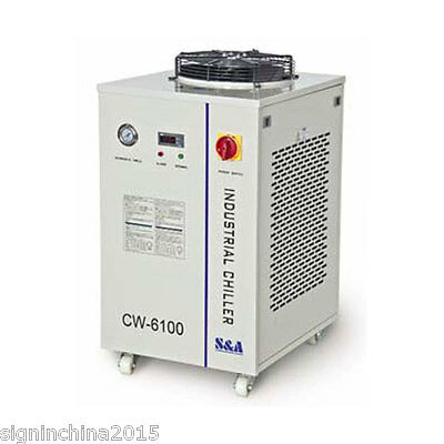 220V CW-6100BN Industrial Water Chiller for 150W CO2 RF Laser Tube/Laser Diode