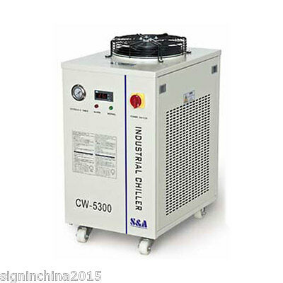 110V 60HZ CW-5300DI Water Chiller for Cooling Single 200W CO2 Laser/ 100W Diode