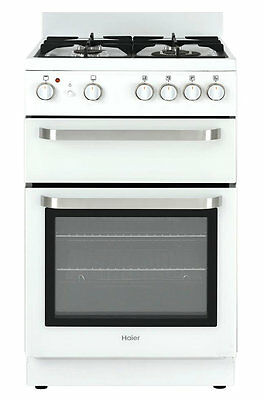 NEW Haier HOR54B5MGW1 54cm Freestanding Dual Fuel Oven/Stove