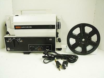 Vintage EUMIG Mark S 802 D Projector (Made in Austria) 8mm ,Super8, For Parts