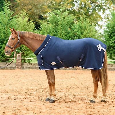 Best On Horse Supreme Ribbon Rug - Breathable Equestrian Outdoor Stable Fleece
