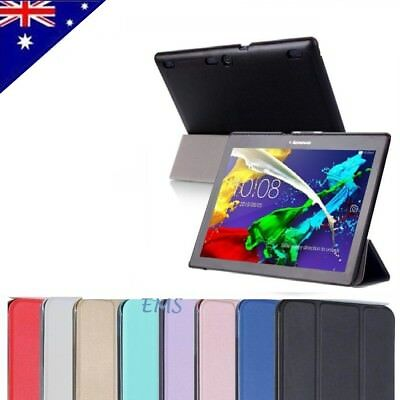 """Smart Magnetic Stand PU Leather Case Cover for Lenovo Tab 3 10"""" Business Tablet"""