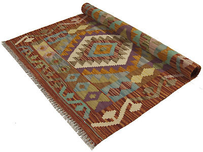 125x80 CM Autentik Kilim Kelem Original Hand Made - Classic STYL - EASY TO CLEAN