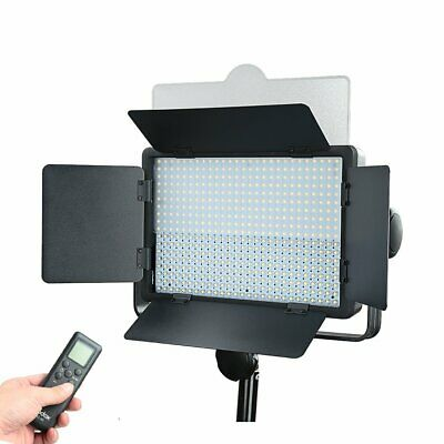 UK Godox LED500W Studio Video Light Continuous Camera Lighting Lamp F Camcorder
