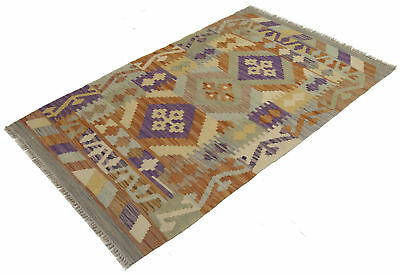 125X78 CM Autentik Kilim Kelem Original Hand Made - Classic STYL - EASY TO CLEAN