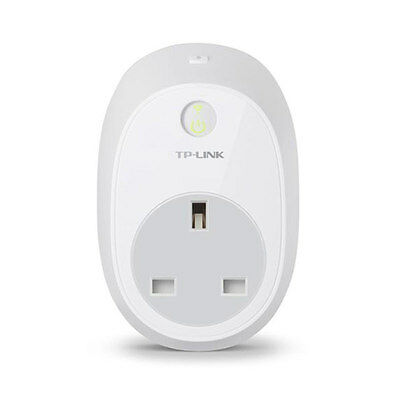TP-Link Wi-Fi Remote Controlled Smart Plug HS100 UK Plug For Android Apple New