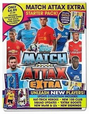 Topps English Premier League Match Attax Extra 2016/17 Trading Card Starter Pack