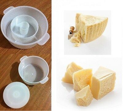 Parmesan Hard Cheese Full Making Kit + Mold With Follower Large For 2.2lbs /1kg