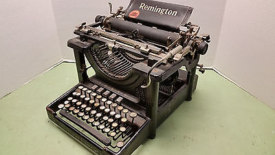Antique Remington Typewriter Standard Model 10 Circa 1909