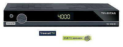 Telestar TD 1030 IR DVBT2 HD  Receiver Freenet TV HDMI USB Scart LAN