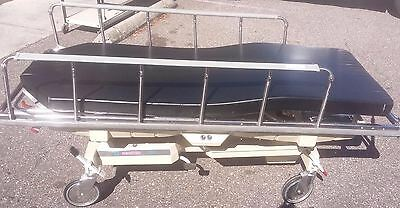 Hausted 800 Series Uni-Care III Medical Bed Stretcher Gurney Thermoformed Mobile