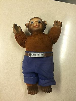 1950's Smokey Bear Doll Ideal Toy Corp. 15 Inches Tall.