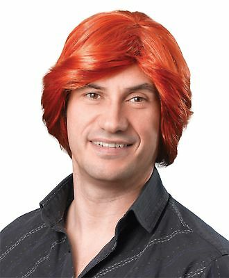 FANCY DRESS Tony Wig Ginger short Wig