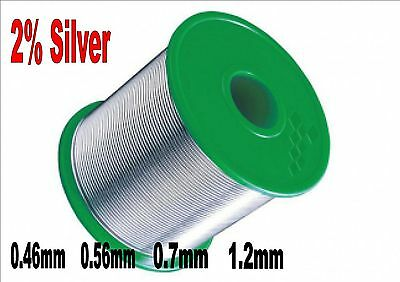 LOW MELTING POINT SOLDER LMP 62% TIN 36% LEAD 2% SILVER FULL REELS 250g 500g