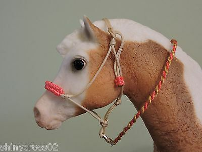 Rope Halter Traditional Pony sized Breyer Peter Stone with Lead Rope