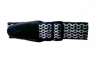 Brand New Adjustable Guitar Strap (Pattern) for Acoustic/Electric/Bass Guitars
