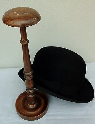 Lovely Vintage Wooden Hat Stand, Millinery Shop Display.