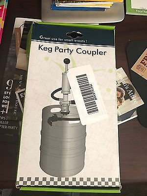"""8"""" Krome Keg Tap With D-System Coupler"""