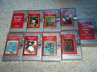 Audiobooks(Lot of 9), Pride & Prejudice, The Collectors, Devices & Desires, Plus