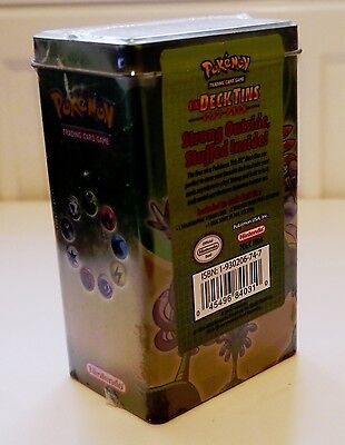 Pokemon Sealed 2004 EX Deck Tin ULTRA RARE BRAND NEW GOLD STAR SHINING RAYQUAZA