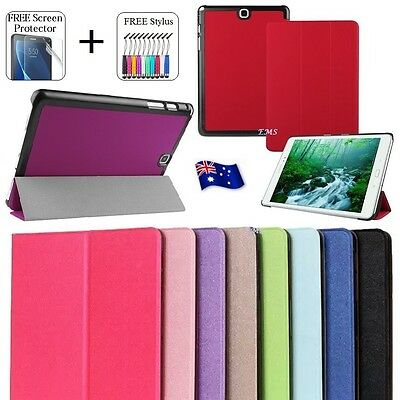 """Smart Leather Magnetic Stand Case Cover For Samsung Galaxy Tab A 8.0"""" / 2017"""