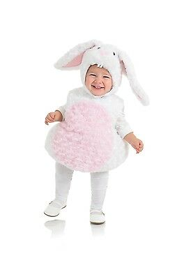 Belly Babies Bunny Rabbit Costume Child Toddler X-Large 4-6