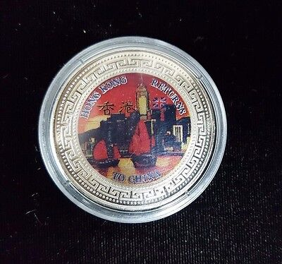 Great Britain 1997 Hong Kong Returns to China Sterling Proof Coin