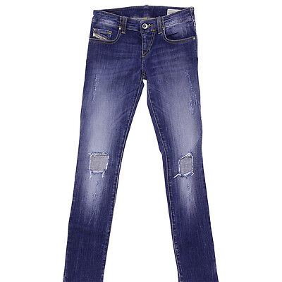 Diesel blue jeans in denim stretch