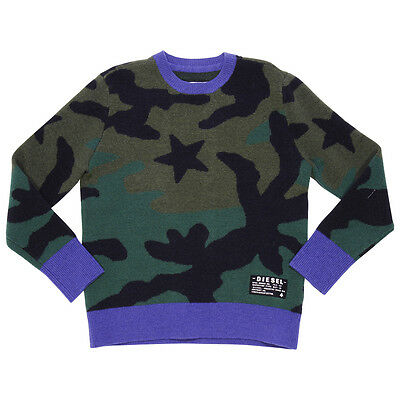 Diesel maglia camouflage in lana