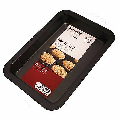 Non Stick Biscuit Baking Tray Oven Roasting Carbon Steel Tin Dish Bakeware Pan