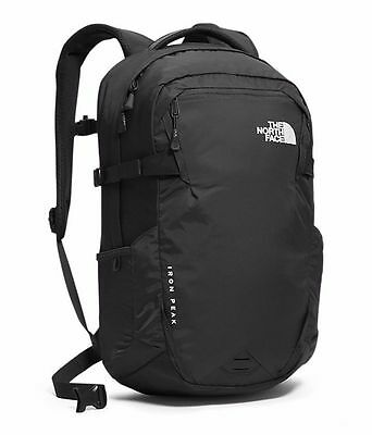 The North Face Iron Peak Backpack (TNF Black) Mens Unisex Rucksack Bag Luggage