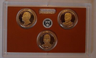 2016 S Presidential proof set  3 coins No Box