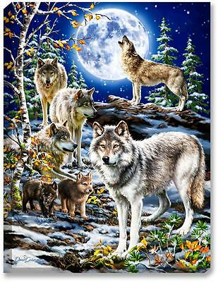 Glow Décor The Spirit of the Pack Wall Art