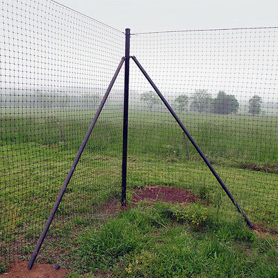 Chicken Fence 7.5' H' Heavy Corner Post System - 2 Pack