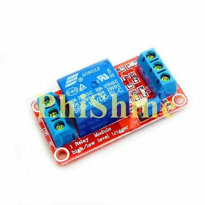 1 Channel Relay Module With OPTO Isolation High Low Level Trigger 12V