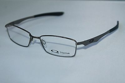 OAKLEY Wingspan OX5040-0253 Brushed Chrome RX Eyeglasses 53MM Authentic