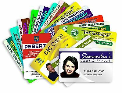Custom Made Personalised Design Colour Staff ID Cards Printed in Highest Quality