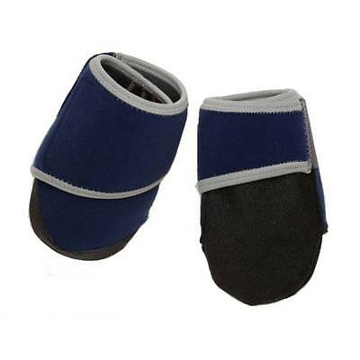 BOWSERWEAR 804879280507  Blue HEALERS BOOTIES FOR DOGS BOX SET LARGE BLUE