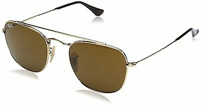 Ray-Ban RB3557 001/33 Gold Frame Brown Classic 54mm Lens Sunglasses