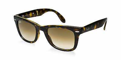 Ray-Ban RB4105 710/51 Folding Tortoise / Lt Brown Gradient 54mm Lens Sunglasses