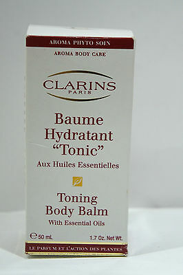 Clarins - Toning Body Balm - 50ml - NEW Boxed CHEAPEST ON EBAY