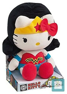 Hello Kitty Dc Comics Peluche Figura Wonderwoman 27 Cm Jemini