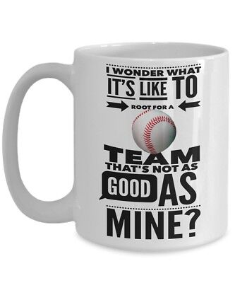 BASEBALL MUG • Funny Coffee Cup • Great gift for Baseball Team, Fans and Coach