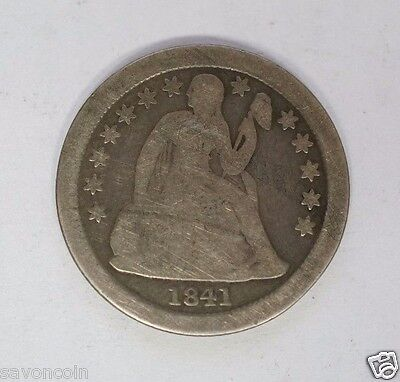 1841 O 10C Seated Liberty Dime Very Good (S-72)