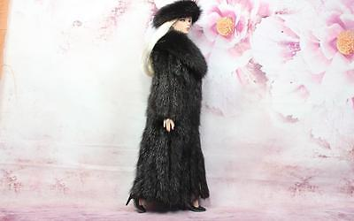 ~Dark Ranch Mink Fur & Suede Coat & Headband 4 Sydney Gene Tyler dolls~dimitha~
