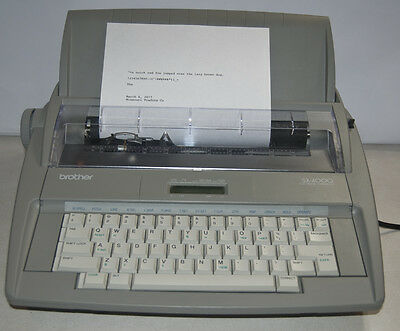Brother SX-4000 Electronic Typewriter Word Correction/Spell Checker LCD Display