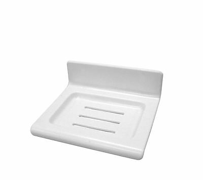 Award White Ezifix Soap Dish - Stick On Or screw On Made In Aust